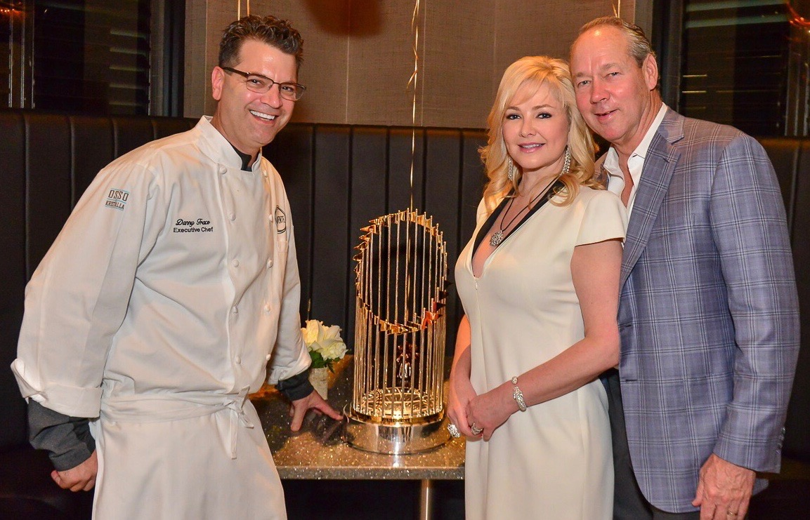 Jim & Whitney Crane with Chef Danny Trace